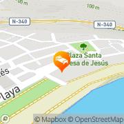 Map Hotel Embarcadero de Calahonda Calahonda, Spain