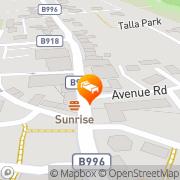 Map Salutation Hotel Kinross, United Kingdom