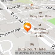 Map Derwent Hotel Torquay, United Kingdom