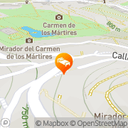 Map Hotel Mirador Arabeluj Granada, Spain