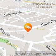 Map Hostal Jayma Salobreña, Spain