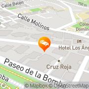 Map Los Angeles Hotel & Spa Granada, Spain