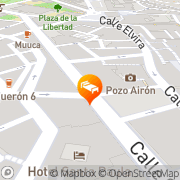 Map Hostal Sonia Granada, Spain