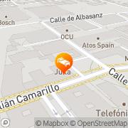 Map Hotel Julia Madrid, Spain