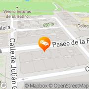 Map Agumar Madrid, Spain