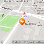 Map Apartamentos Centro Colón Madrid, Spain