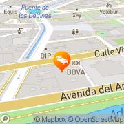 Map Hotel Almirante Bonifaz Burgos, Spain