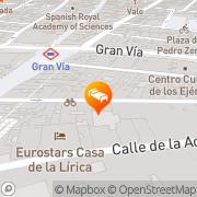 Map Heranfu Apartments&Suites Madrid, Spain