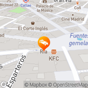 Map Petit Palace Puerta del Sol Madrid, Spain