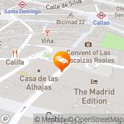 Map Intur Palacio San Martin Madrid, Spain