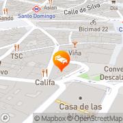 Map Room Mate Laura Madrid, Spain