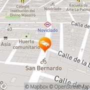 Map Hostal Abami II Madrid, Spain