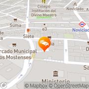 Map Hostal Rías Bajas Madrid, Spain