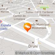 Map Senator España Spa & Theater Hotel Madrid, Spain