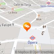 Map Casa de Madrid Madrid, Spain