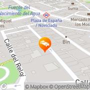 Map Apartamentos Candilejas Madrid, Spain