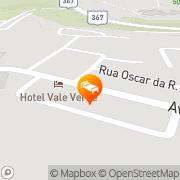 Map Oceano Porto Hotel Porto Seguro, Brazil