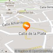 Map Apartamentos Turísticos Casa de los Mozárabes Toledo, Spain