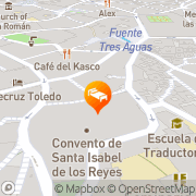 Map Hotel Santa Isabel Toledo, Spain