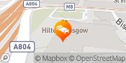 Map Hilton Glasgow Glasgow, United Kingdom