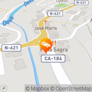 Map Apartamentos Spa Cantabria Infinita Ojedo, Spain