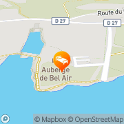 Carte de Auberge De Bel Air Brélès, France
