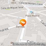 Map Hotel Boutique Gareus Valladolid, Spain