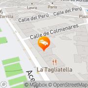 Map Meliá Recoletos Valladolid, Spain