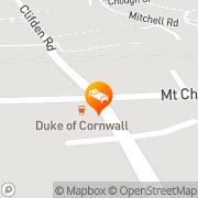 Map Duke Of Cornwall St Austell, United Kingdom
