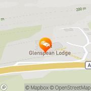 Map Glenspean Lodge Hotel Fort William, United Kingdom