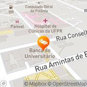 Map Slaviero Slim Alto da XV Curitiba, Brazil