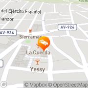 Map Hostal Rural Luna y Hostal Rural Lunaposada Candeleda, Spain