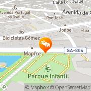 Map Alameda Palace Salamanca, Spain