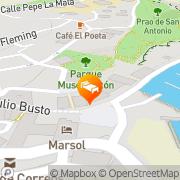 Map Celuisma Marsol Candás, Spain