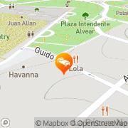 Map Ayres de Recoleta Plaza Buenos Aires, Argentina