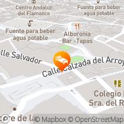 Map Bellas Artes Jerez de la Frontera, Spain