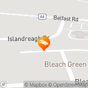 Map Dunadry Hotel & Country Club Belfast, United Kingdom