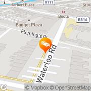Map Waterloo House Dublin, Ireland