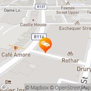 Map Grafton Guesthouse Dublin, Ireland