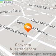 Map Condedu Badajoz, Spain