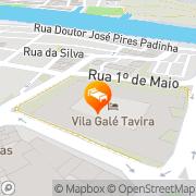 Map Vila Galé Tavira Tavira, Portugal