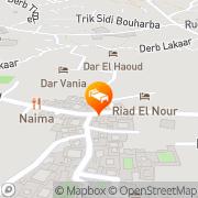 Map Riad El Nour Marrakech, Morocco