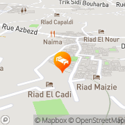 Map Riad Darna Marrakech, Morocco