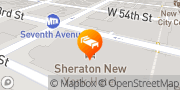 Map Sheraton New York Times Square Hotel New York, United States