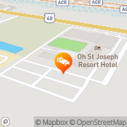 Map Atlantic City Lakes Bay Resort Hotel West Atlantic City, United States