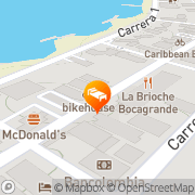 Map Hotel Dorado Plaza Cartagena, Colombia