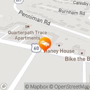 Map Quality Inn Historic East - Busch Gardens Area Williamsburg, United States