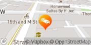 Map The Madison Washington, DC, a Hilton Hotel Washington, United States