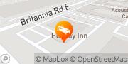 Map Holiday Inn Mississauga Toronto West Mississauga, Canada