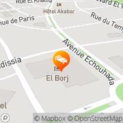 Map El Andalous Marrakech, Morocco